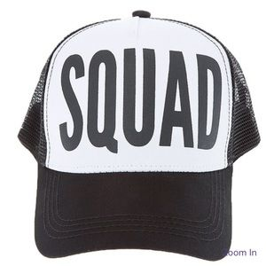 SQUAD Trucker Hat.